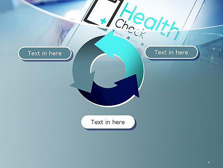 Health Check Diagnosis Concept PowerPoint Template Slide 9