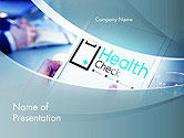 Business Concepts: Health Check Diagnosis Concept PowerPoint Template #14574