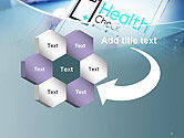 Health Check Diagnosis Concept PowerPoint Template#11