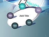 Health Check Diagnosis Concept PowerPoint Template#14