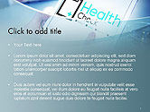 Health Check Diagnosis Concept PowerPoint Template#2
