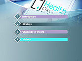 Health Check Diagnosis Concept PowerPoint Template#3