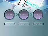 Health Check Diagnosis Concept PowerPoint Template#5