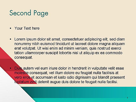 Abstract Creative Concept Layout PowerPoint Template Slide 2