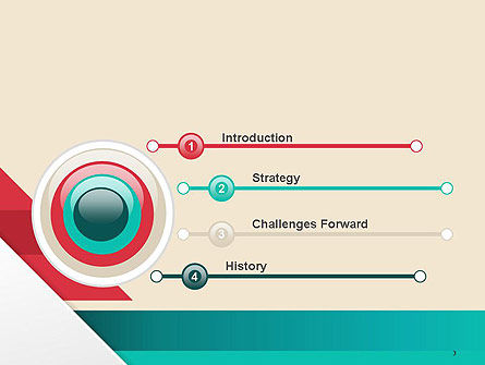 Abstract Creative Concept Layout PowerPoint Template Slide 3