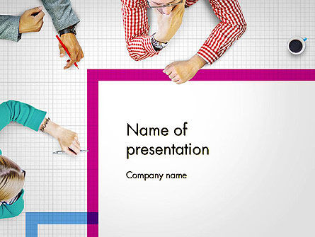 Discussion Meeting PowerPoint Template, 14578, People — PoweredTemplate.com