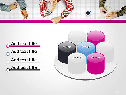 Discussion Meeting PowerPoint Template Slide 12