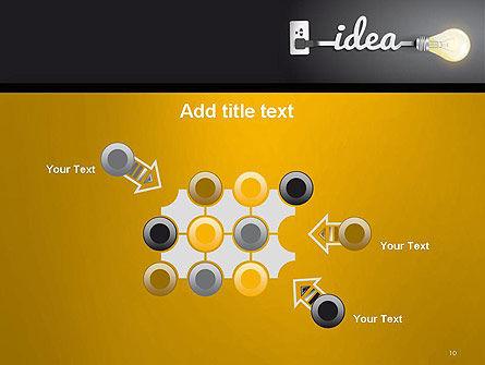 Creative Light Bulb PowerPoint Template Slide 10
