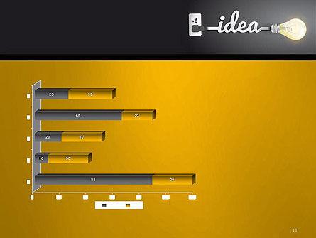 Creative Light Bulb PowerPoint Template Slide 11