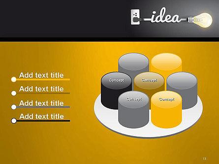 Creative Light Bulb PowerPoint Template Slide 12