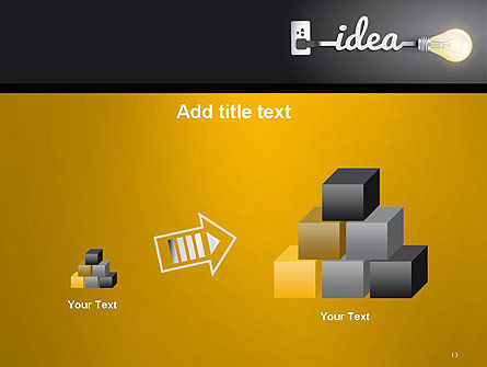 Creative Light Bulb PowerPoint Template Slide 13