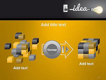 Creative Light Bulb PowerPoint Template Slide 17