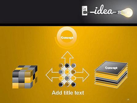 Creative Light Bulb PowerPoint Template Slide 19
