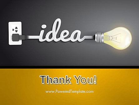 Creative Light Bulb PowerPoint Template Slide 20