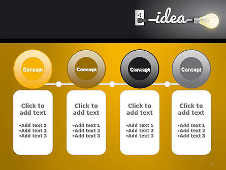 Creative Light Bulb PowerPoint Template Slide 5
