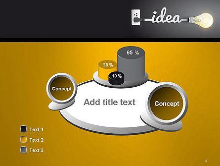 Creative Light Bulb PowerPoint Template Slide 6