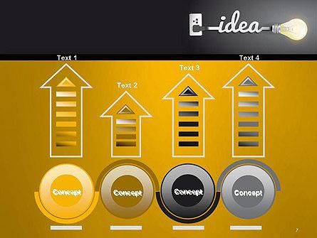 Creative Light Bulb PowerPoint Template Slide 7