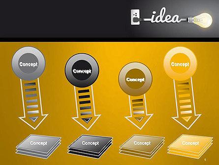 Creative Light Bulb PowerPoint Template Slide 8
