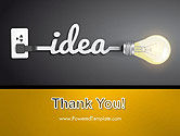 Creative Light Bulb PowerPoint Template#20