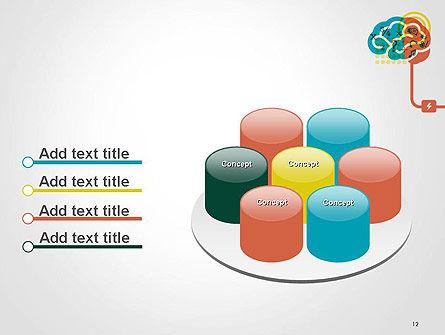 Creative Brain Idea PowerPoint Template Slide 12