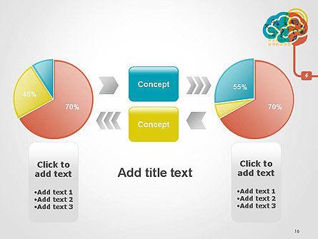 Creative Brain Idea PowerPoint Template Slide 16