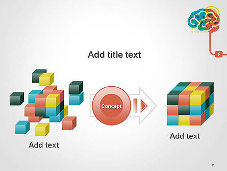Creative Brain Idea PowerPoint Template Slide 17