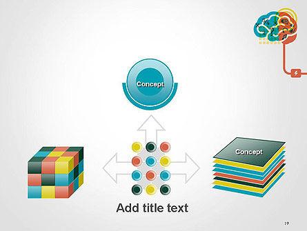 Creative Brain Idea PowerPoint Template Slide 19