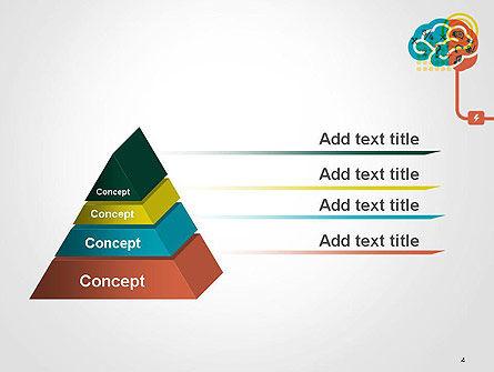 Creative Brain Idea PowerPoint Template Slide 4