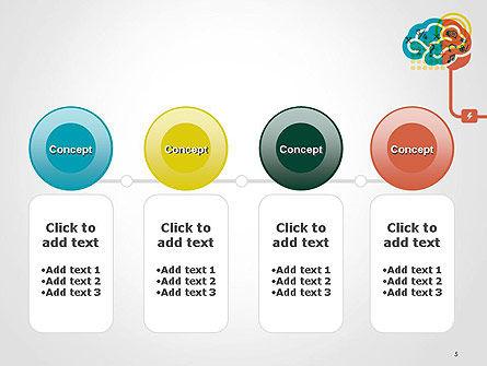 Creative Brain Idea PowerPoint Template Slide 5