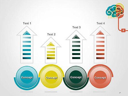 Creative Brain Idea PowerPoint Template Slide 7