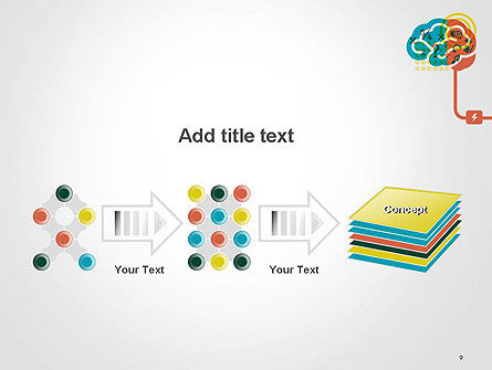 Creative Brain Idea PowerPoint Template Slide 9