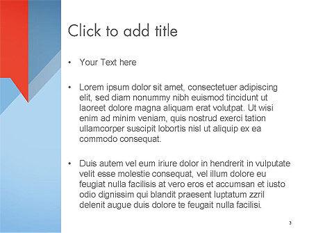 Paper Speech Bubble Background PowerPoint Template, Slide 3, 14583, Abstract/Textures — PoweredTemplate.com