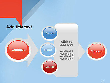 Paper Speech Bubble Background PowerPoint Template Slide 17