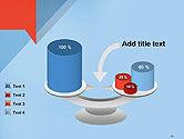 Paper Speech Bubble Background PowerPoint Template#10