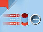 Paper Speech Bubble Background PowerPoint Template#11