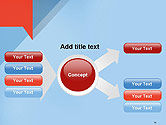 Paper Speech Bubble Background PowerPoint Template#14