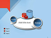 Paper Speech Bubble Background PowerPoint Template#16