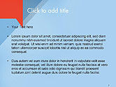 Paper Speech Bubble Background PowerPoint Template#2