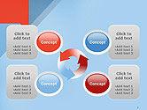 Paper Speech Bubble Background PowerPoint Template#9