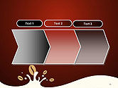 Espresso Flavored Abstract Background PowerPoint Template#16