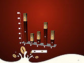 Espresso Flavored Abstract Background PowerPoint Template#17