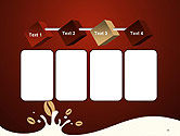 Espresso Flavored Abstract Background PowerPoint Template#18