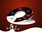 Espresso Flavored Abstract Background PowerPoint Template#19