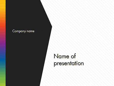 Abstract/Textures: Black and White Corporate Background PowerPoint Template #14586