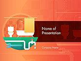 Careers/Industry: Haus-sanitär-dienstleistungen PowerPoint Vorlage #14588