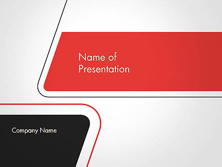 Abstract/Textures: Rounded Shapes PowerPoint Template #14589