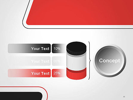 Rounded Shapes PowerPoint Template Slide 11