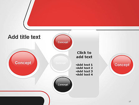 Rounded Shapes PowerPoint Template Slide 17