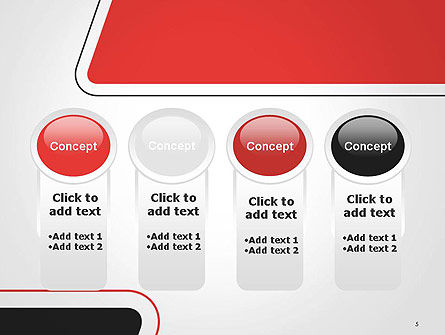 Rounded Shapes PowerPoint Template Slide 5