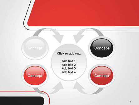Rounded Shapes PowerPoint Template Slide 6